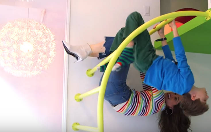 Το διαμέρισμα – όνειρο κάθε παιδιού – Newsbeast