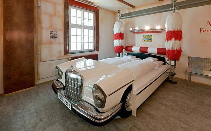 Παράξενα κρεβάτια που υπάρχουν