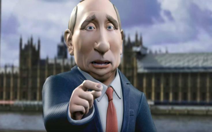 Ένας ψηφιακός… Βλαντίμιρ Πούτιν, σύντομα στις οθόνες του BBC – Newsbeast