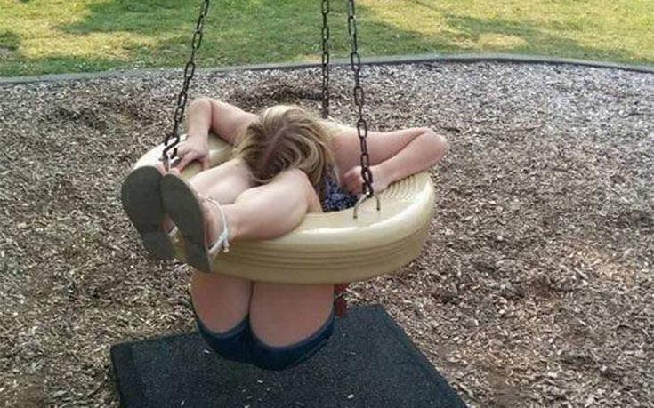 Ενήλικες που ήθελαν να παίξουν στην παιδική χαρά – Newsbeast