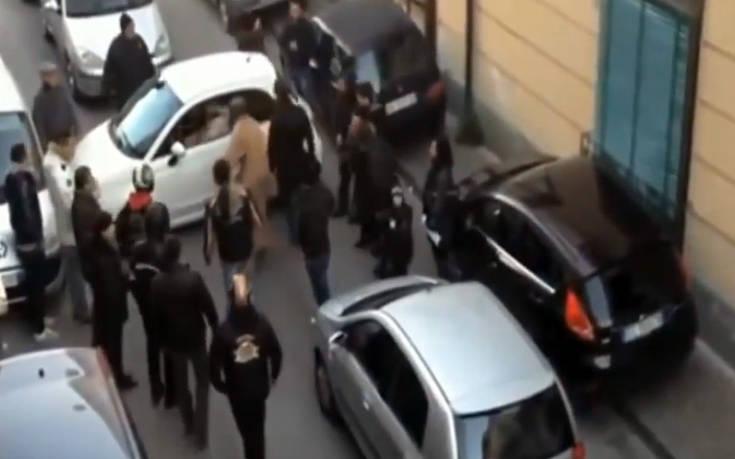 Μια λάθος προσπάθεια παρκαρίσματος προκάλεσε κυκλοφοριακό χάος