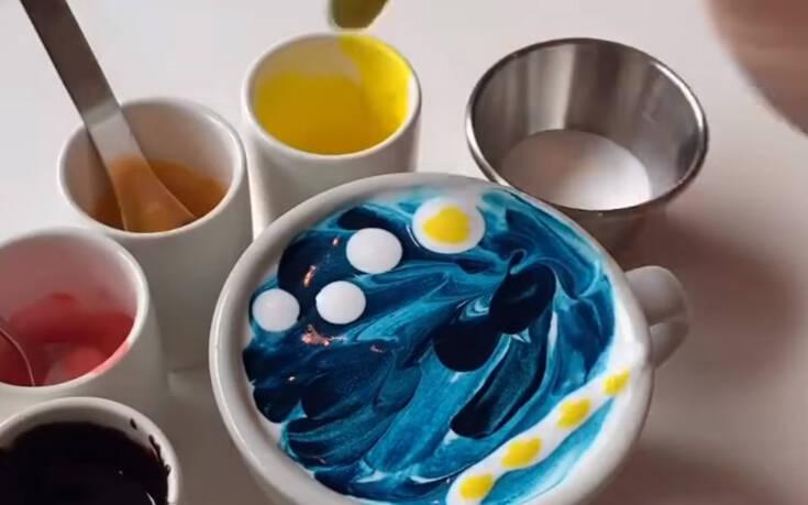 Έτσι πίνεις τον πρωινό καφέ αν είσαι… καλλιτέχνης